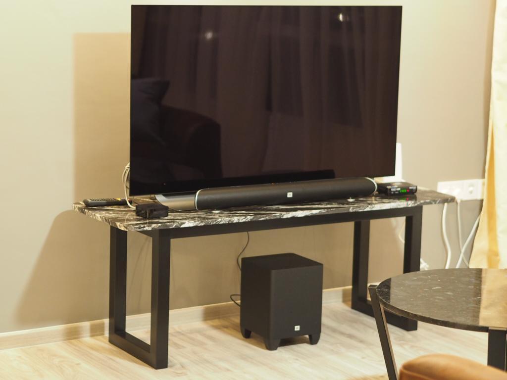 Casa Console 1500 x 500 x 570 Nero Fantasy Granite
